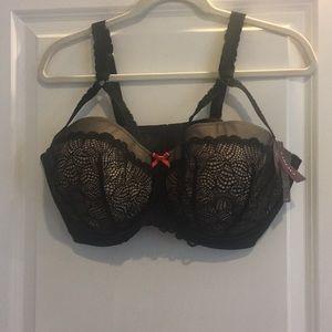 Cacique seriously sexy balconette bra